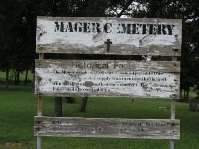 Mager Cemetery image. Click for full size.