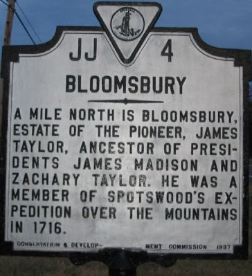 Bloomsbury Marker image. Click for full size.