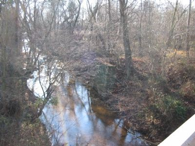 Old Bridge Abutments at Crooked Run image. Click for full size.