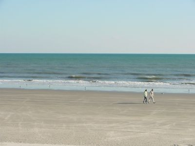 The Winter Beach at North Myrtle Beach image. Click for full size.