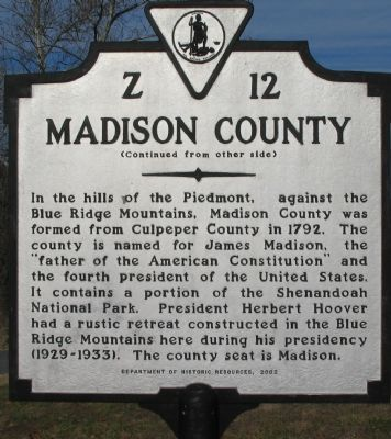 Madison County Side image. Click for full size.