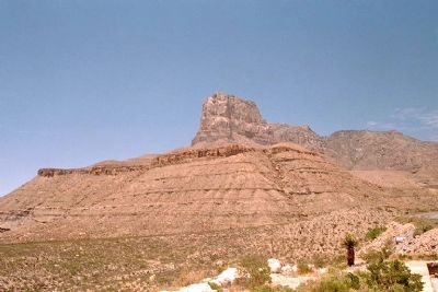 Guadalupe Peak image. Click for full size.