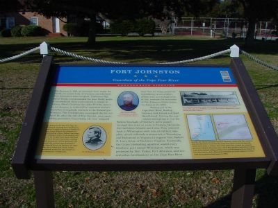 Fort Johnston Marker image. Click for full size.