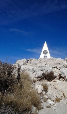 Guadalupe Peak Pyramid image. Click for full size.