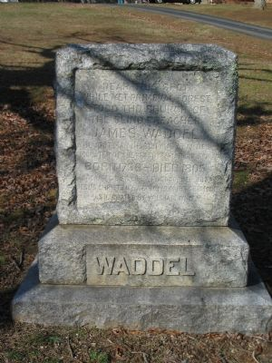 Waddel Monument image. Click for full size.