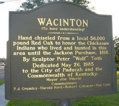 Wacinton Marker image. Click for full size.