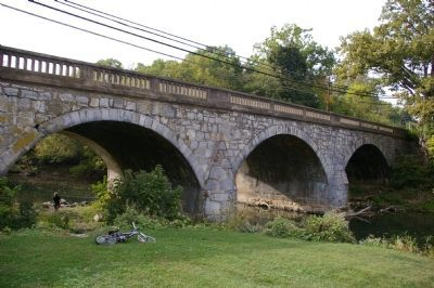 North side of Funkstown Bridge image. Click for full size.