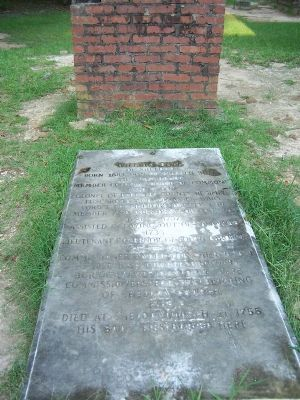 Grave of William Bull image. Click for full size.