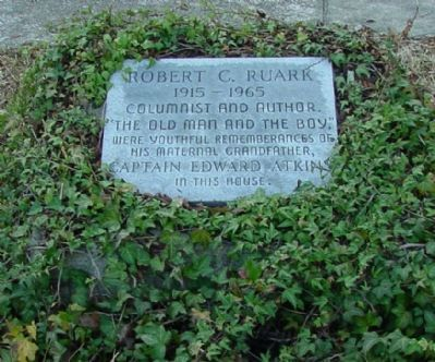 Robert C. Ruark Marker image. Click for full size.