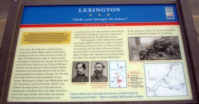 Lexington Civil War Trails Marker image. Click for full size.