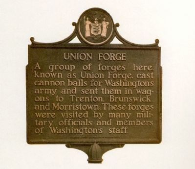 A nearby Union Forge Marker? image. Click for full size.