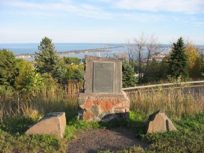 Duluth–Superior Harbor Marker image. Click for full size.