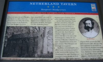 Netherland Tavern Marker image. Click for full size.
