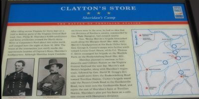 Clayton's Store Marker image. Click for full size.