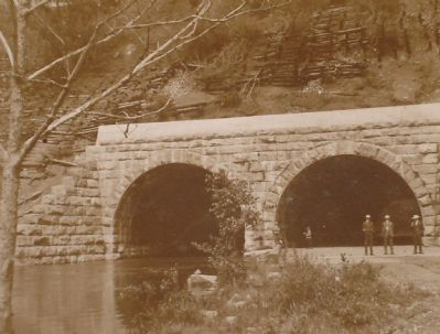 Vintage Photograph of High Bridge Arches image. Click for full size.