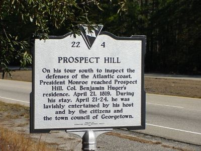 Prospect Hill Marker image. Click for full size.