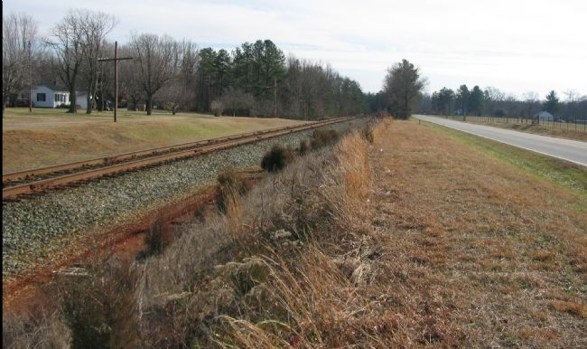 Virginia Central Railroad at the Second Day Battlefield image. Click for full size.
