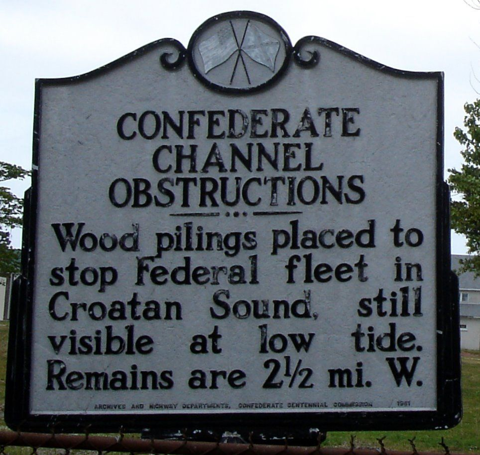 Confederate Channel Obstructions Marker