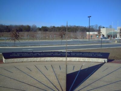 Freedom High School Sundial Memorial Marker image. Click for full size.