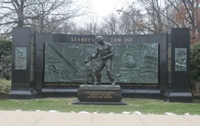 Seabees ~ Can Do Marker image. Click for full size.