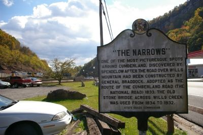 """The Narrows"" Marker image. Click for full size."
