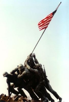 U.S. Marine Memorial image. Click for full size.