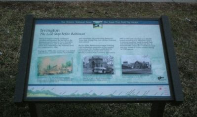 Irvington Marker image. Click for full size.