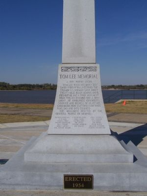 Tom Lee Memorial Marker image. Click for full size.