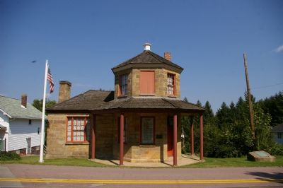 Petersburgh Tollhouse and Great Crossings marker image. Click for full size.