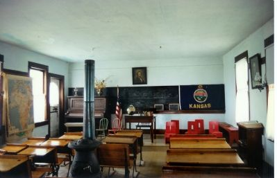 Inside the School House image. Click for full size.