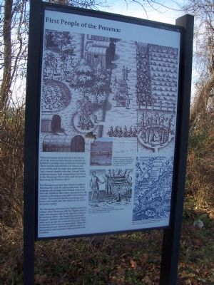 Piscataway Park - First People of the Potomac image. Click for full size.