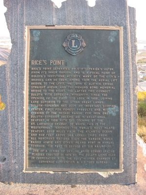 Rice's Point Marker image. Click for full size.