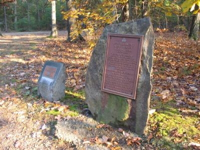 Marker Stones for the 12th New Jersey Volunteers image. Click for full size.