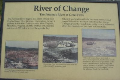 River of Change Marker image. Click for full size.