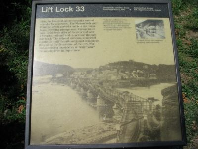 Lift Lock 33 Marker image. Click for full size.