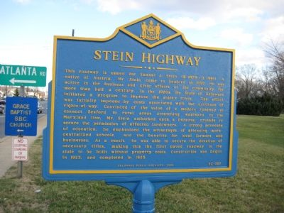 Stein Highway Marker image. Click for full size.