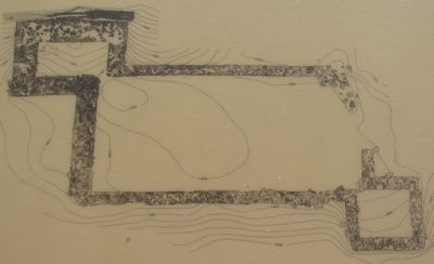 Archaeological Plan of the Fort image. Click for full size.
