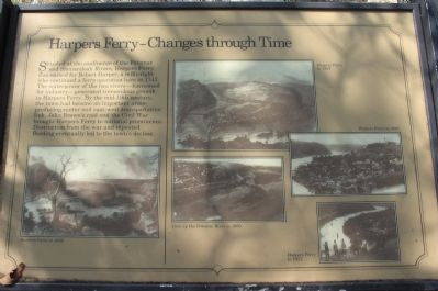 Harpers Ferry - Changes through Time Marker image. Click for full size.