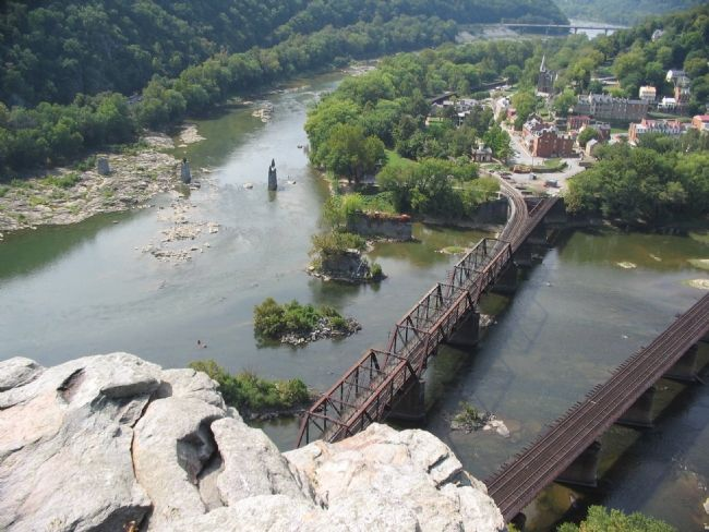 Harpers Ferry From the Overlook image. Click for full size.