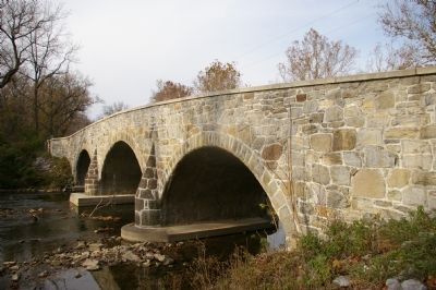 Roxbury Mills Bridge (detail) image. Click for full size.