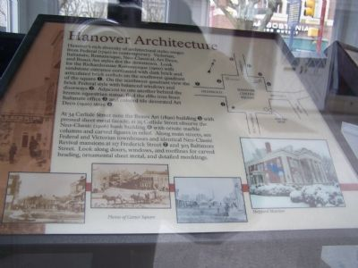 Hanover Architecture Marker image. Click for full size.