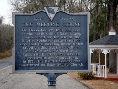 The Meeting House Marker image. Click for full size.