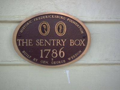 The Sentry Box (1786) Marker image. Click for full size.