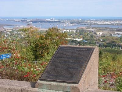 Geology of Duluth Harbor Marker image. Click for full size.