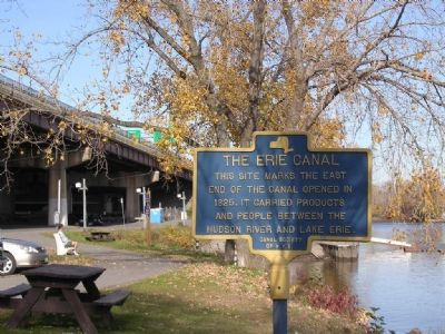 Erie Canal In Albany image. Click for full size.