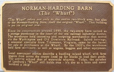 Norman-Harding Barn Marker image. Click for full size.