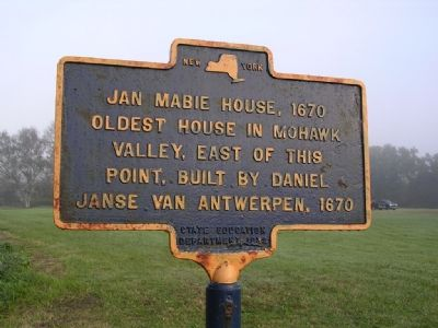 Jan Mabie House, 1670 Marker image. Click for full size.