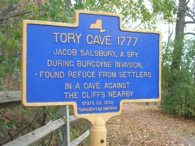 Tory Cave Marker image. Click for full size.