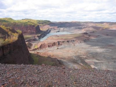 Nearby Open Pit Mine image. Click for full size.