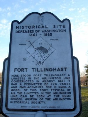 Fort Tillinghast Marker image. Click for full size.